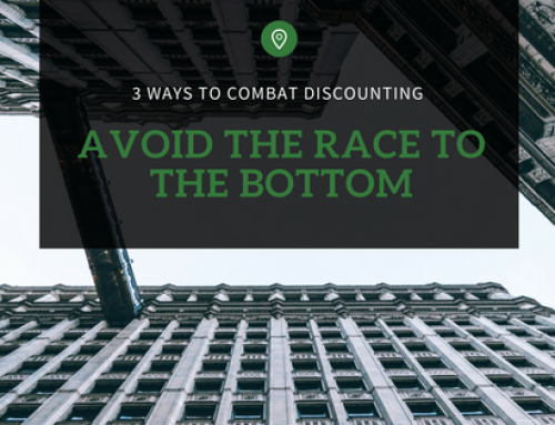 Combating Discounting: How to avoid the race to the bottom